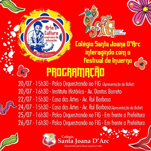 29° Festival de Inverno de Garanhuns.
