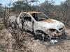 Carro incendiado é encontrado com dois corpos carbonizados na Estrada das Pedrinhas