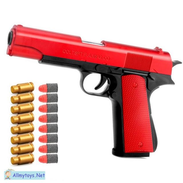 Colt 1911 Shells Ejecting Realistic Toy Gun 2