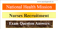 Madhya Pradesh NHM Community Health Officer Recruitment Model Exam Questions with Answer