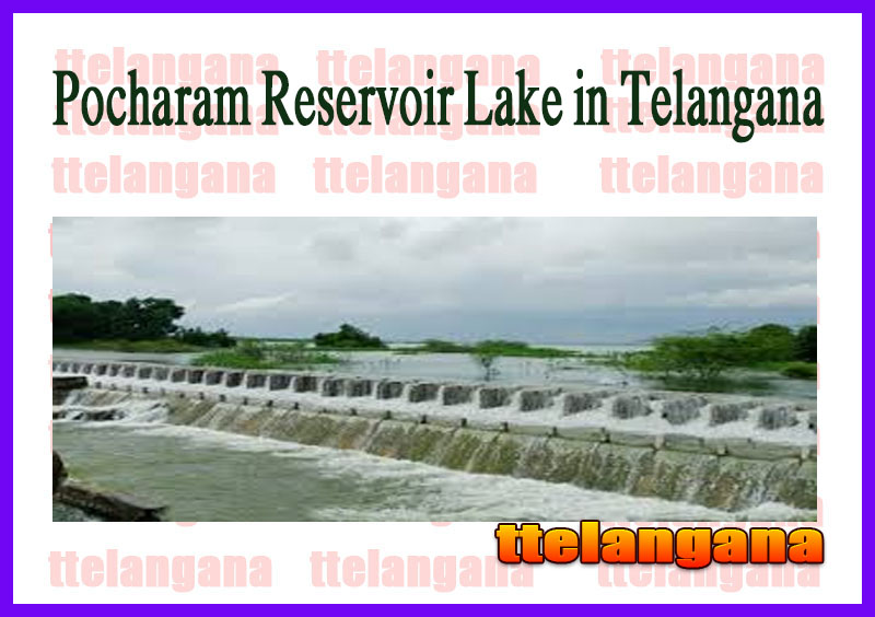Pocharam Reservoir Lake in Telangana