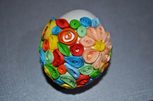 quilling postup