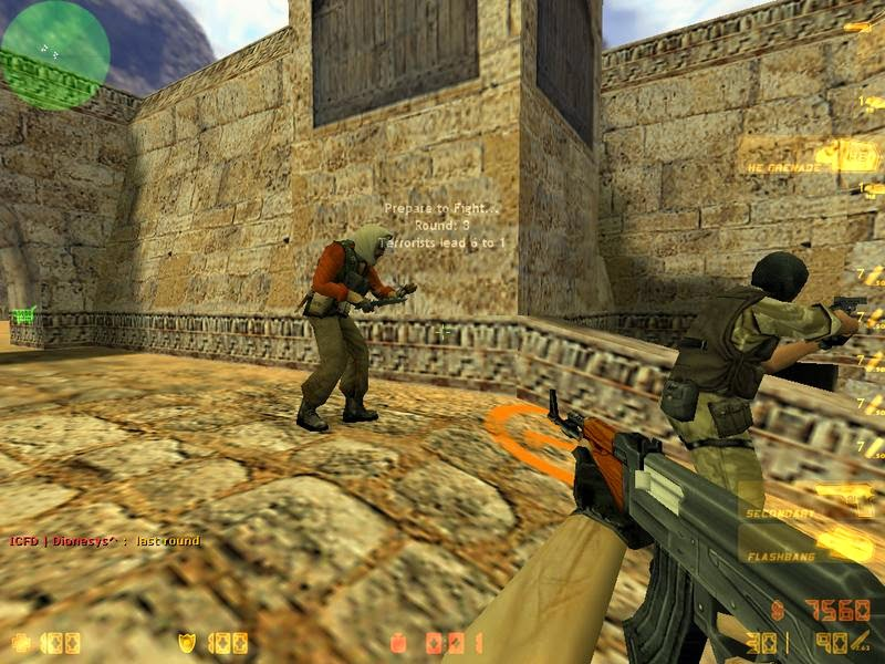 لعبة كونترا سترايك Counter Strike 1.6
