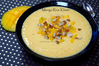 Mango Rice Dessert
