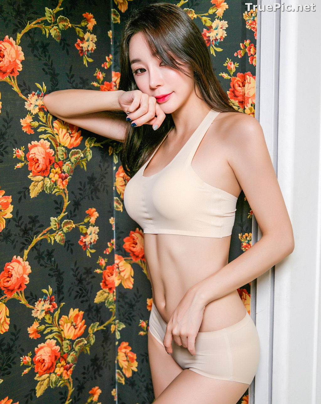 Image Hyun Kyung - Korean Fashion Model - Nude Color Undies - TruePic.net - Picture-5
