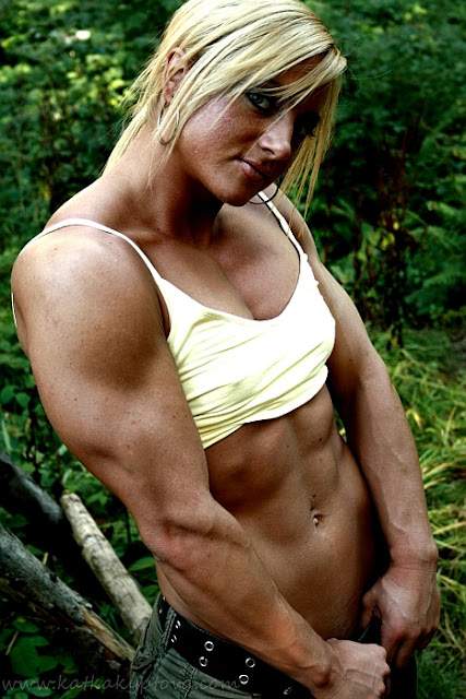 Katka Kyptova - Female Bodybuilder