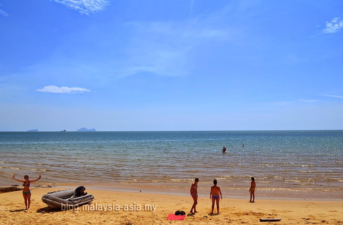 Damai Beach in Sarawak