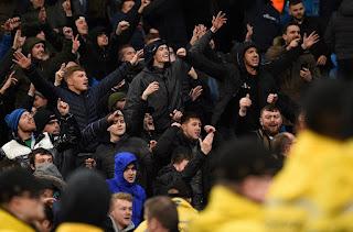 Kerumunan supporter sepakbola. (Foto: medcom.id)