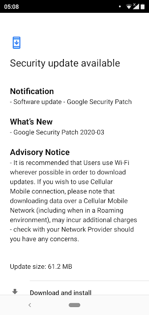Nokia 5.1 Plus receiving March 2020 Android Security Patch