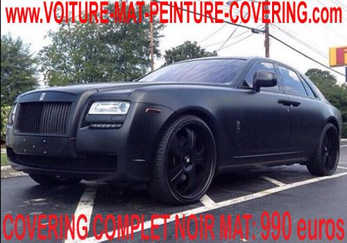 covering noir mat devis pour peindre une voiture peindre carrosserie voiture peindre voiture. Black Bedroom Furniture Sets. Home Design Ideas