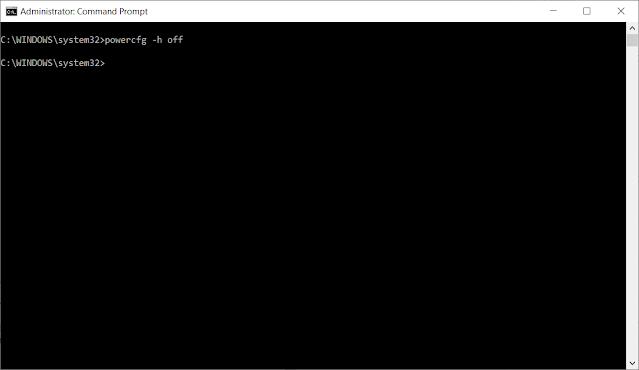 Fungsi dan Cara Menghapus Hiberfil.Sys dan Pagefile.Sys