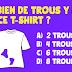 Seule 1 personne sur 7 trouve la bonne réponse : combien de trous y a-t-il dans ce T-shirt?
