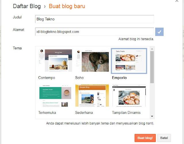 Cara Membuat Blog Dari Nol Sampai Mahir
