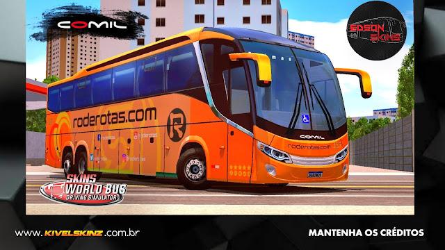 COMIL 1200 6X2 - VIAÇÃO RODEROTAS