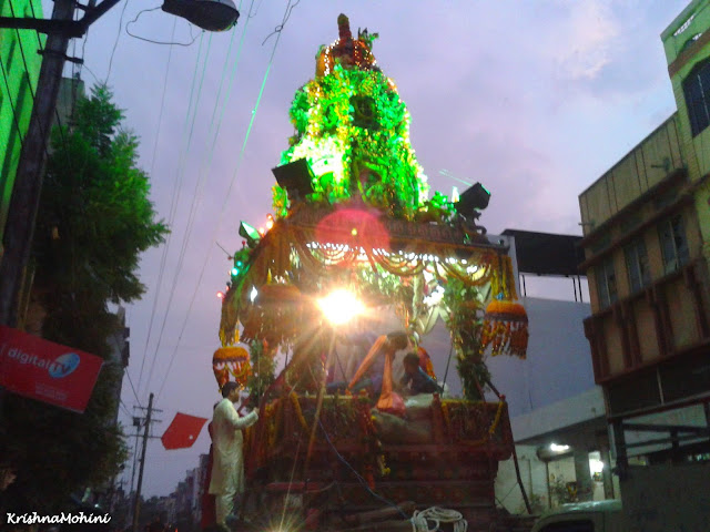 Image: Balaji Rath from the back side closer view