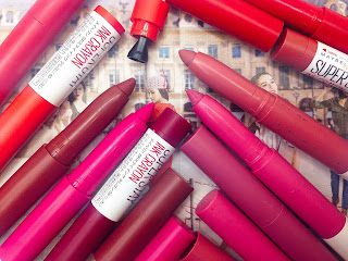 Review Maybelline superstay ink crayon