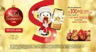 Cadastrar Promoção Sadia Natal 2019 Iluminado Mil Reais Todo Dia e 10 Prêmios 100 Mil Reais