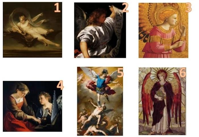 Выберите ангела и прочитайте послание от него