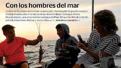 Excursiones en barcos de pesca con Pescaturismo