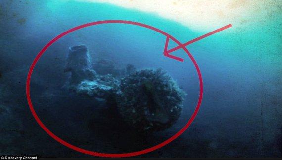 У Бермудському трикутнику знайшли корабель прибульців
