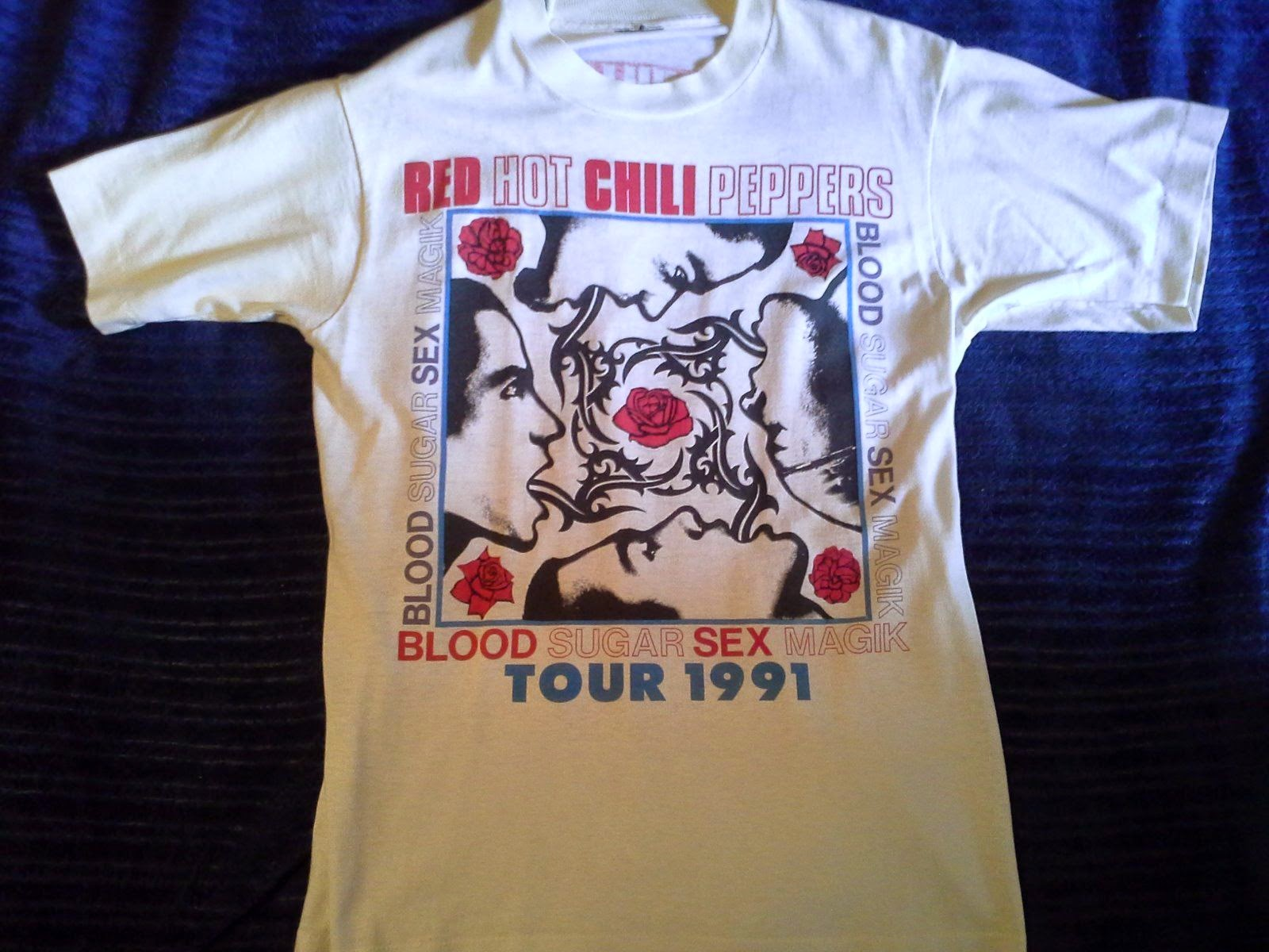 791915102edcd Red Hot Chili Peppers - Nirvana - Pearl Jam Tour T Shirt | vintage t ...