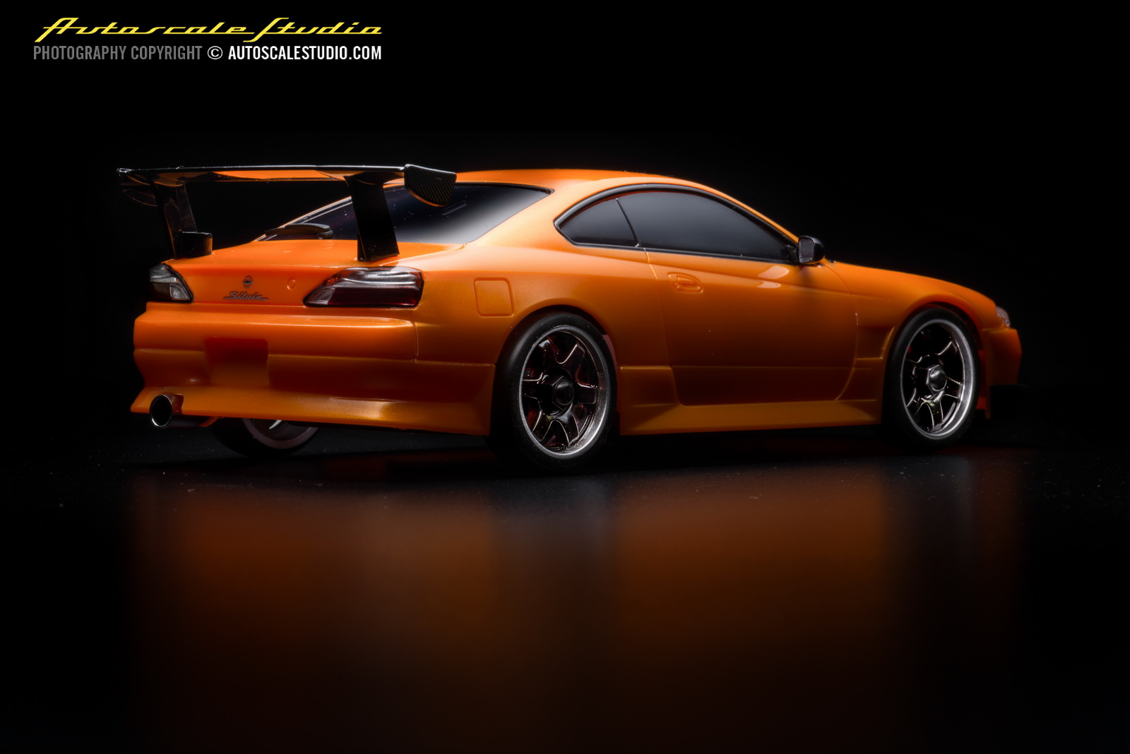 mzp413mo nissan silvia s15 gt wing metallic orange autoscale studio. Black Bedroom Furniture Sets. Home Design Ideas