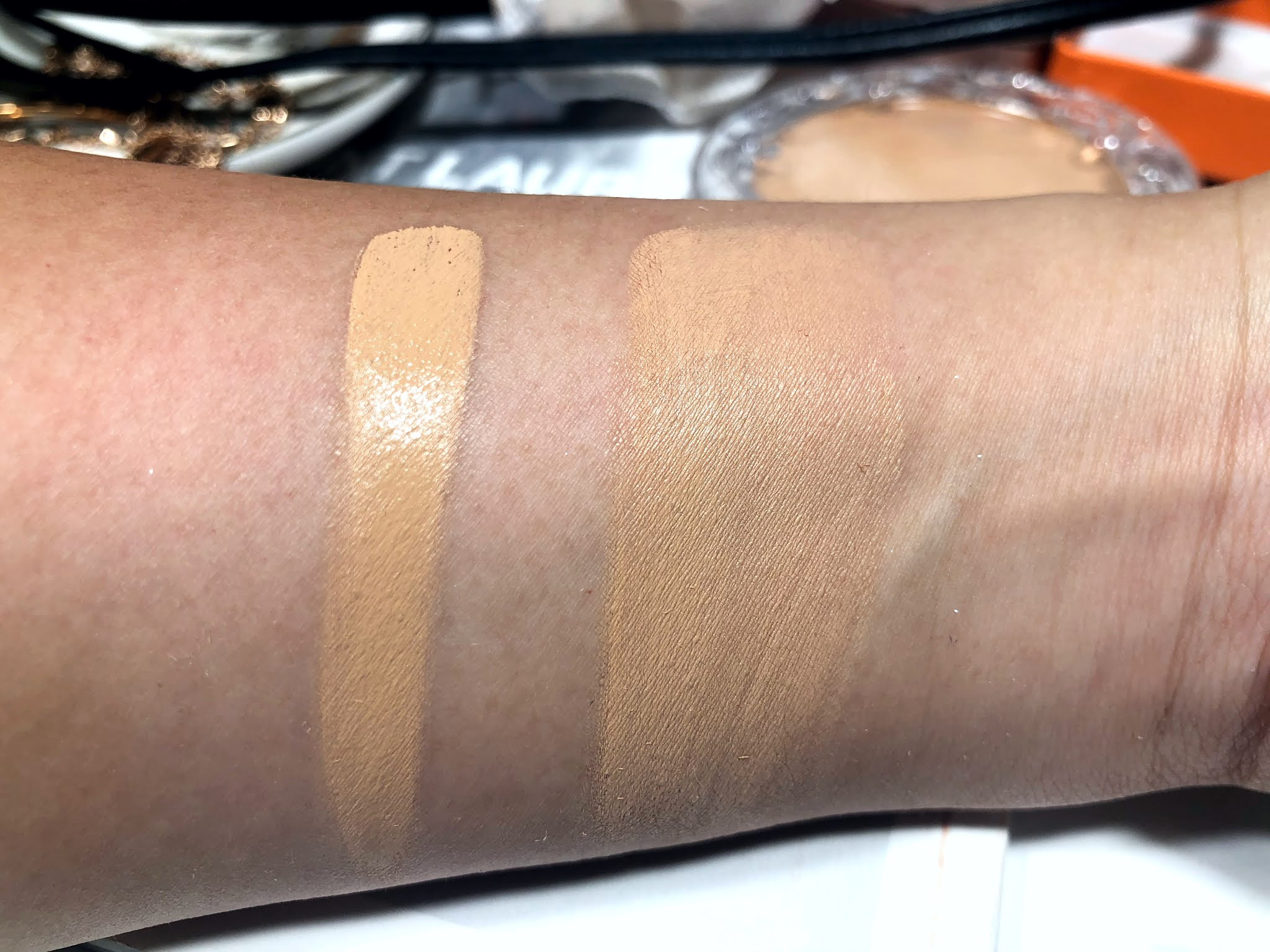 KVD Beauty Good Apple Skin-Perfecting Hydrating Foundation Balm Review and Swatches