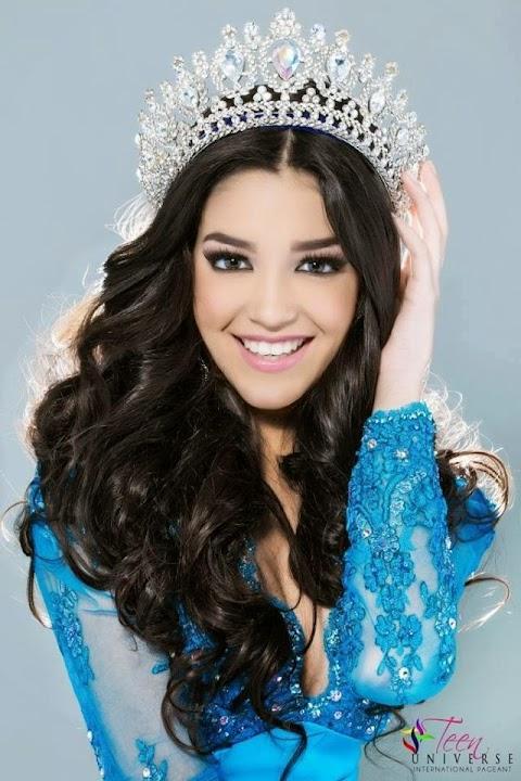 Vivianie Díaz Arroyo (EEUU) es al nueva Miss Teen Universe 2014