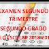 EXAMEN SEGUNDO GRADO (segundo trimestre) CICLO ESCOLAR 2018-2019.