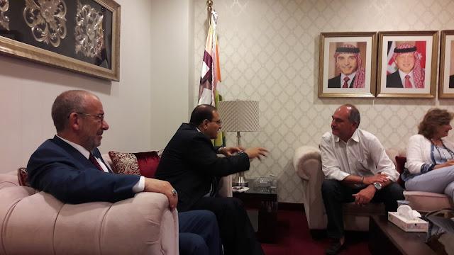 Στην Ιορδανία ο Αντιπεριφερειάρχης  Άγγελος Παπαγγελόπουλος