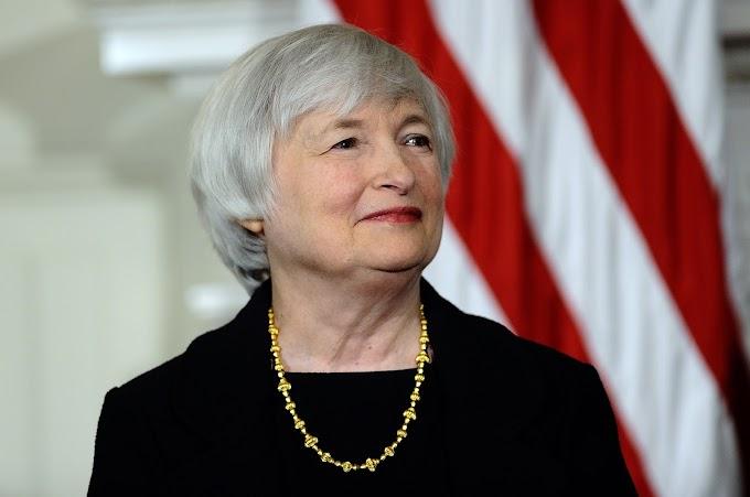 Dow se dirige a máximos de sesión el lunes cuando el exjefe de la Fed, Yellen, es visto como la elección de Biden para secretaria del Tesoro