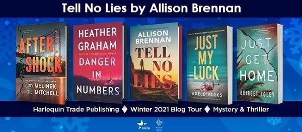 Tell No Lies by Allison Brennan Blog Tour