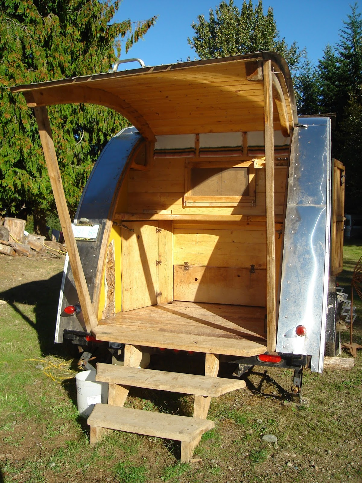 My Chemical Free House Non Toxic Teardrop Trailer