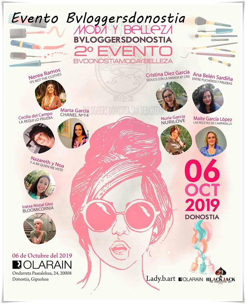 Evento Bvloggersdonostia un evento de belleza con un montón de marcas y productos interesantes