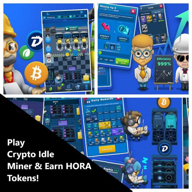 Como ganar HORA tokens