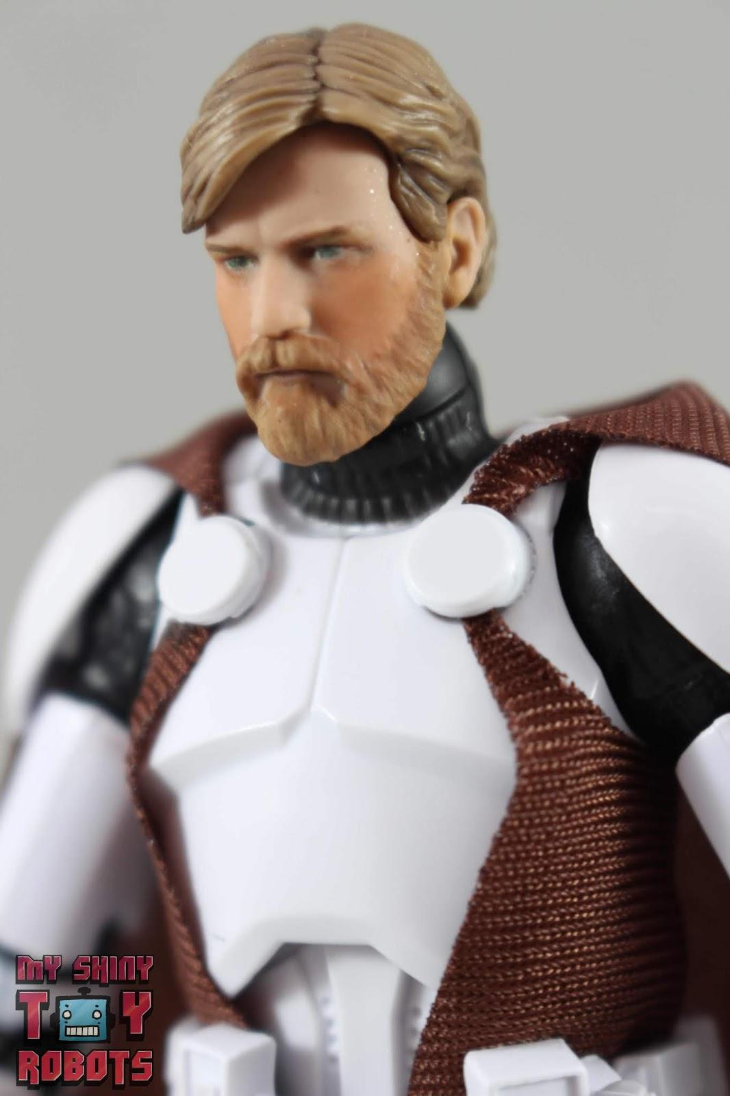 "6/"" NEW IN BOX New-Star Wars The Black Series-Clone Commandant Obi-Wan Kenobi"