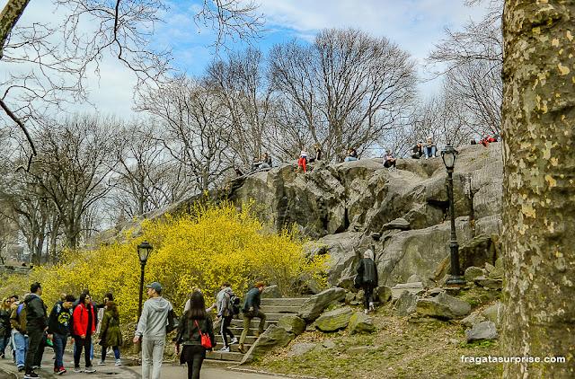 Umpire Rock, Central Park, Nova York