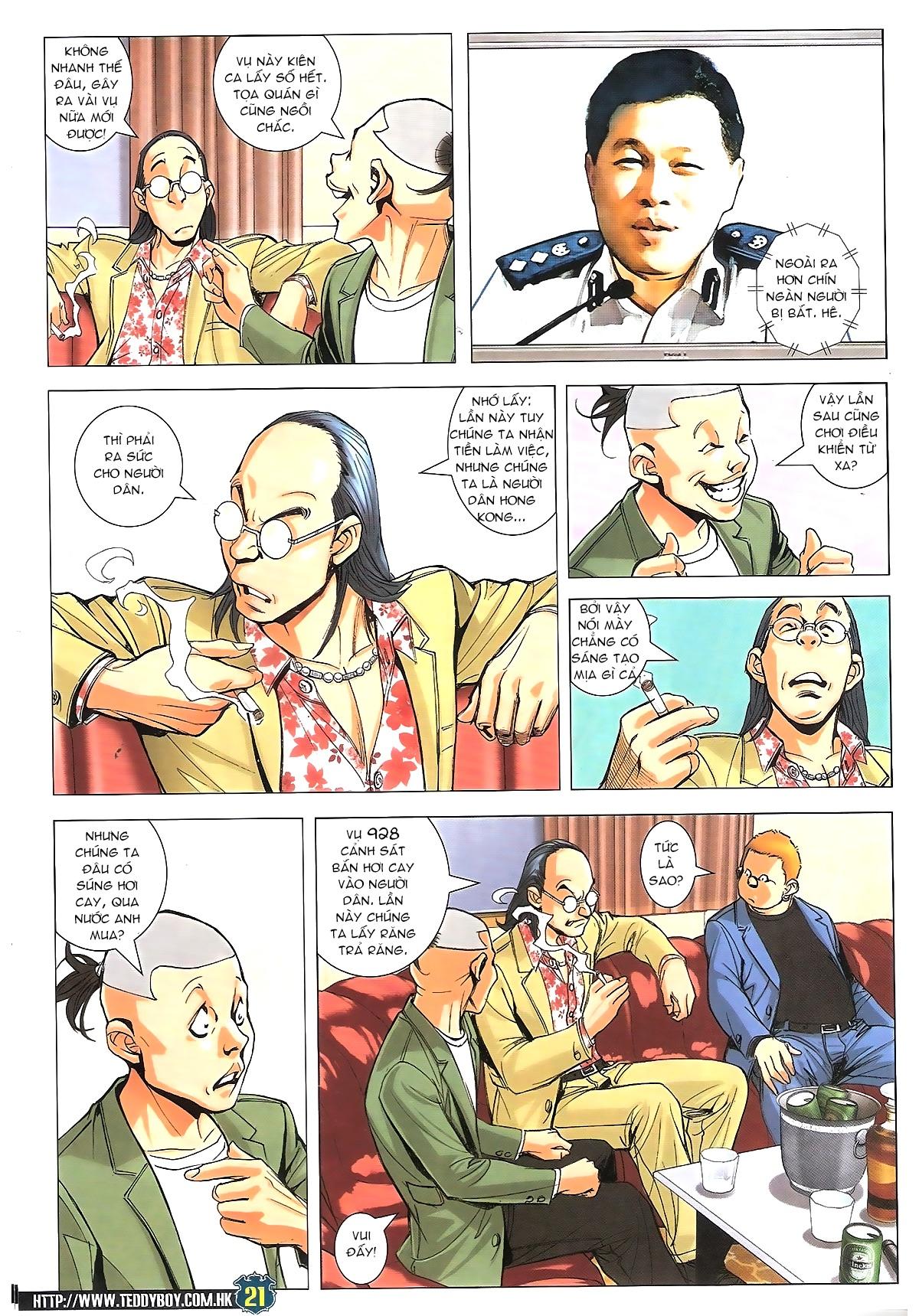 Người Trong Giang Hồ chapter 1770: tên x hồng hưng trang 17