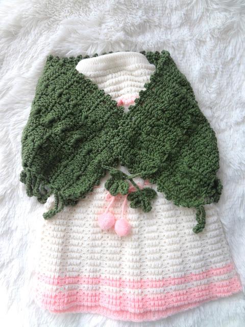 Crochet Kids' Wrap / Adult Cowl Pattern
