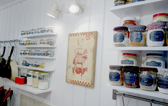 Remaking The Kitchen ~ Pantry Solutions Finished