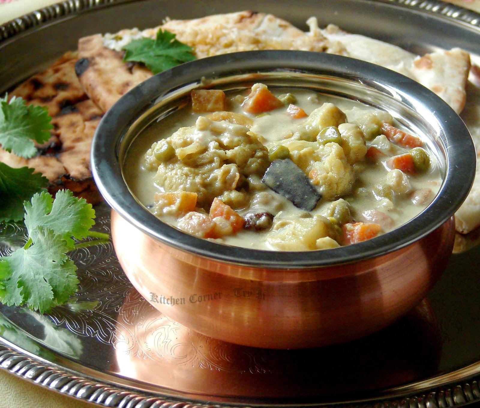 Vegetable Kurma Kerala Style Annie S Kitchen