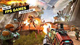 أفضل, وأحدث, ألعاب, FPS, وإطلاق, النار, على, أجهزة, اندرويد, و iOS