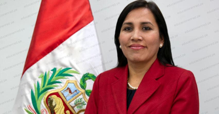 MINEDU: Ratifican a la Ministra de Educación Flor Pablo Medina - www.minedu.gob.pe