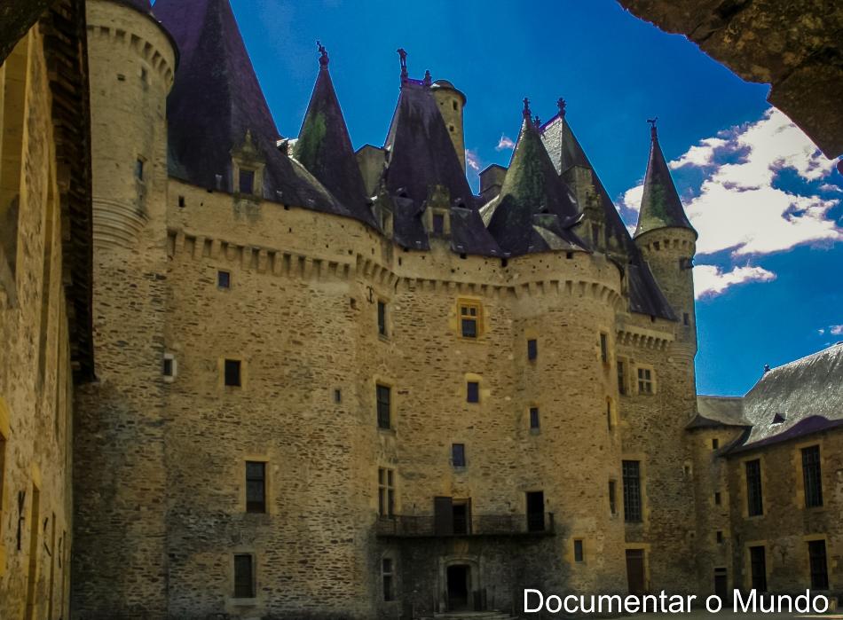 Os 1001 châteaux do Vale da Dordonha; château Jumilhac