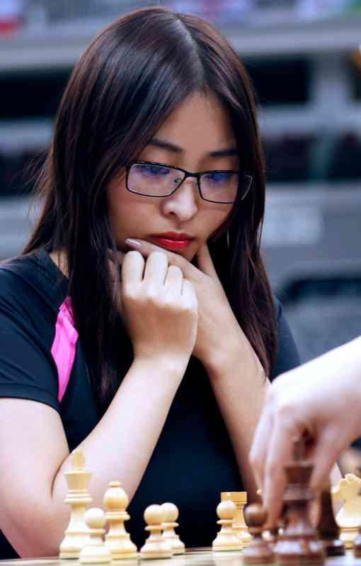 Ju Wenjun devient la 17ème championne du monde de l'histoire des échecs - Photo © Anastasia Karlovich