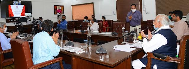 हरियाणा में लॉन्च हुआ 'ग्राम दर्शन', डिजिटल प्लेटफार्म पर मिलेगा पंचायतों का सम्पूर्ण रिकॉर्ड