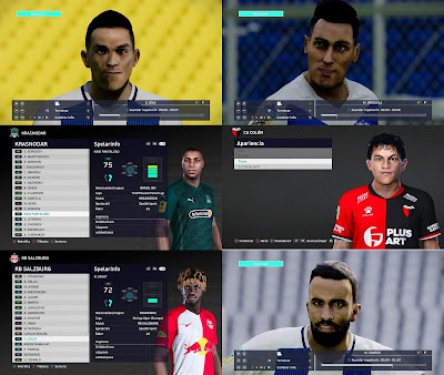 PES 2021 MiXed Facepack 101