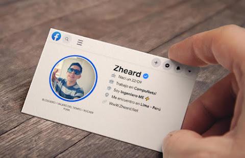 Zheard.Net - Crea Tarjeta Facebook