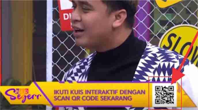 cara memindai kode QR dari Handphone, cara scan kode QR dari Handphone, cara scan barcode sahur seger, cara ikut kuis sahur di trans7 2020 cara scan QR code sahur seger,