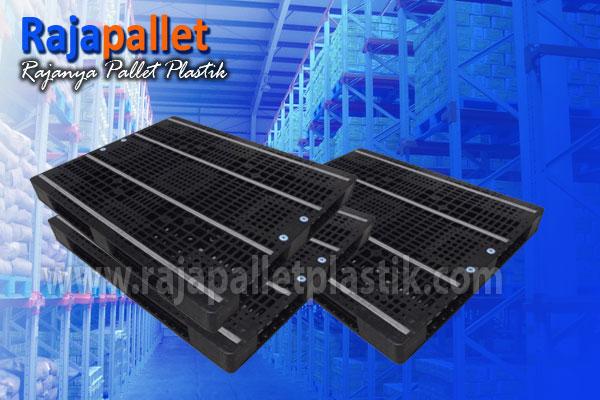 Jual Pallet Plastik Bekas HDPE Ukuran 1200 x 1100 x 120
